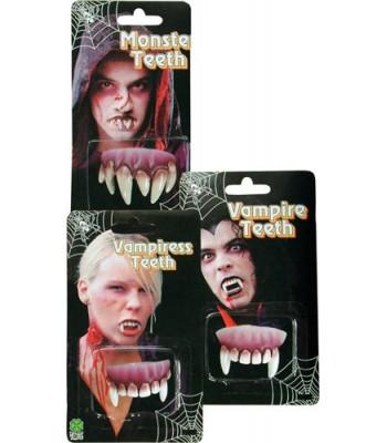 Dentier de monstre halloween