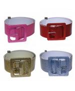Ceintures disco, 4 couleurs disponibles - accessoires deguisements