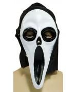 Masque scream fantome halloween, incarnez un personnage de film d'horreur