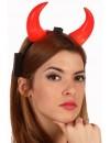 Set de cornes de diable lumineuses - deguisements diables et diablesses