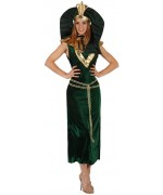 déguisement égyptienne verte