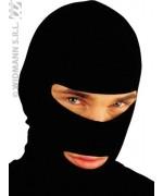 cagoule noire - accessoire deguisement