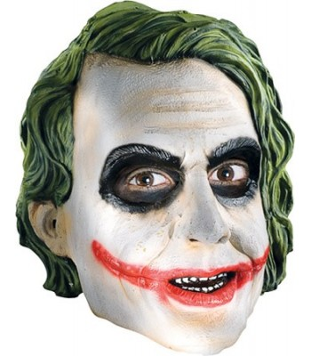 Masque Joker 3/4 adulte