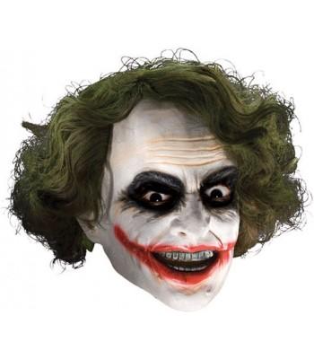 Masque Joker luxe avec cheveux