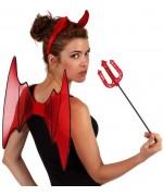 Kit de diablesse chauve-souris, diablement original - accessoires halloween