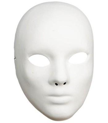 Masque blanc de théâtre