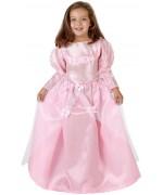 déguisement de princesse rose avec papillons fille, inspiré de la belle au bois dormant
