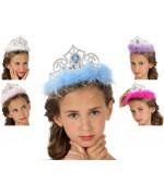couronnes de princesses pour filles, 5 couleurs disponibles - deguisement princesse