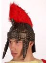 Casque romain avec crête rouge - accessoire deguisements