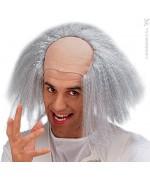 perruque professeur Einstein pour homme - deguisement savant