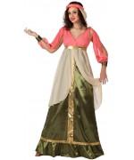 deguisement de reine du moyen-âge adulte - costume medieval