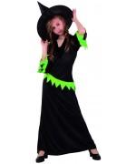deguisement de sorciere verte pour fille - costume halloween