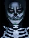 maquillage squelette phosphorescent halloween, brille dans le noir - BZ163A