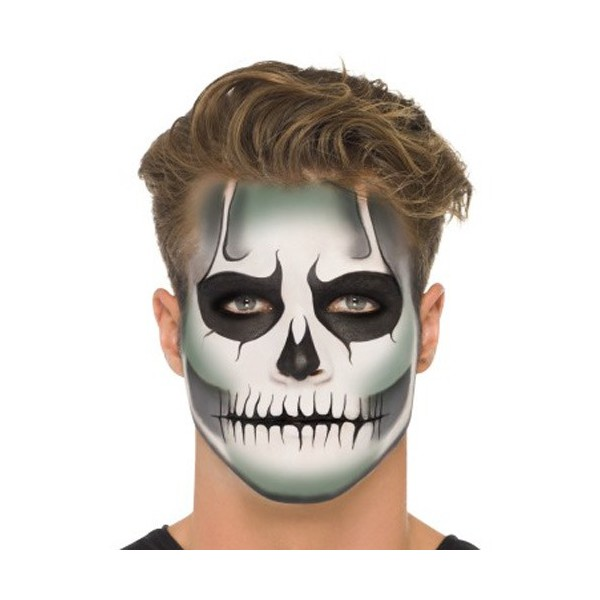 Maquillage halloween homme barbe - Maquillage pirate homme ...