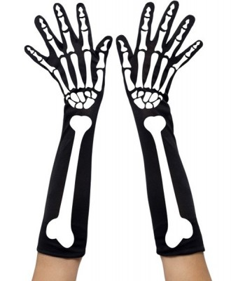 Gants squelette femme