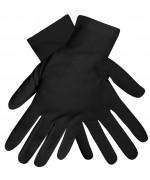 Paire de gants noirs pour adulte, un accessoire idéal pour compléter de nombreux déguisements
