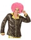 chemise disco pour homme, couleur noir et or - deguisements disco