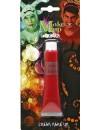 Tube de maquillage rouge en crème, maquillage à l'eau idéal pour Halloween et Carnaval