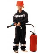 deguisement pompier francais pour enfant - costume sapeur pompier