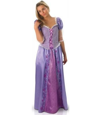 Déguisement princesse Raiponce adulte