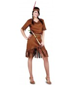 deguisement indienne femme, disponible en grandes tailles - MA003S