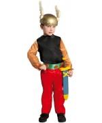 Deviens un personnage de bande dessinée digne du célèbre Asterix grâce à ce déguisement de gaulois pour enfants