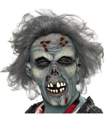 Masque zombie halloween adulte