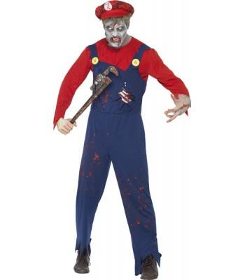 Déguisement Mario zombie halloween