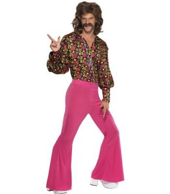 d guisement ann es 60 homme la magie du deguisement achat costumes hippie disco. Black Bedroom Furniture Sets. Home Design Ideas