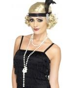 collier de perles charleston - accessoire deguisement annees 20