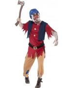 deguisement de nain pour adulte, costume halloween - contes et dessins animés