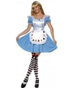 deguisement Alice au pays des merveilles, robe et tablier