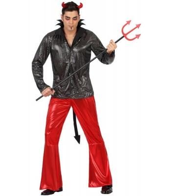 d guisement diable adulte la magie du deguisement achat costumes halloween nouvel an. Black Bedroom Furniture Sets. Home Design Ideas