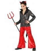 deguisement diable disco garçon de 3 à 12 ans - costumes halloween