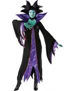 deguisement Maléfique adulte, sorcière du dessin animé Disney la belle au bois dormant