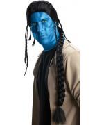 perruque de Jake Sully, personnage du film Avatar - deguisement Avatar