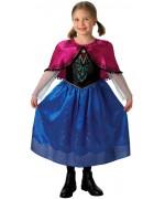deguisement la reine des neiges Disney , costume princesse Anna deluxe - ZA109S