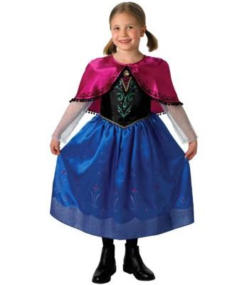 Déguisement Anna reine des neiges Disney luxe