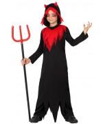 deguisement de diable rouge et noir  garçon - costume halloween