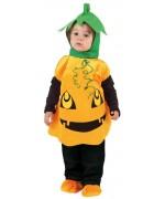 deguisement de citrouille pour enfant - costume halloween bébé