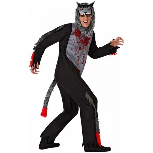 d guisement loup halloween adulte la magie du deguisement costume animal halloween. Black Bedroom Furniture Sets. Home Design Ideas
