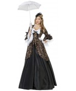 déguisement marquise noire adulte luxe - costume carnaval