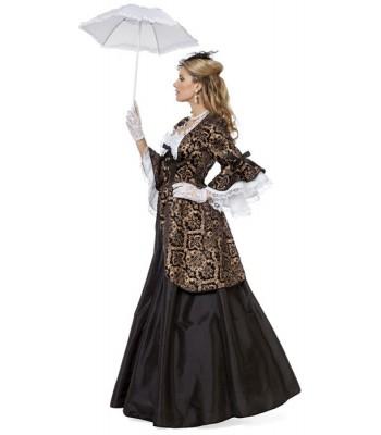 Déguisement marquise baroque luxe. déguisement marquise noire adulte luxe , costume  carnaval