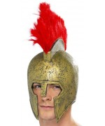 casque gladiateur romain en latex - costumes romains