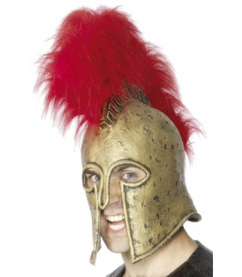 Casque romain en latex