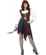 deguisement femme pirate femme décliné en grande taille XL et XXL - BZ185S