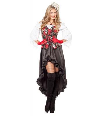 Deguisement pirate gothique femme