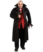 deguisement grande taille pour homme, Dracula le comte des vampires - costume halloween