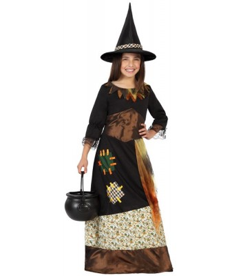 déguisement sorcière magique enfant