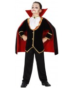 deguisement de vampire luxe garçon 3 à 12 ans - costume vampires halloween enfant